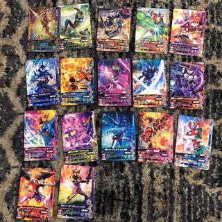 仮面ライダー カード 17枚 ガンバライド