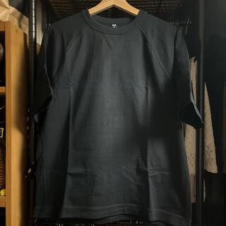 UNIQLO - UNIQLO メンズ 黒Tシャツ