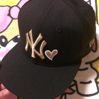 ニューエラー(NEW ERA)のニューエラ ヤンキース 52cm キャップ KIDS(帽子)