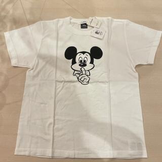 ディズニー(Disney)の*新品ディズニー ミッキーマウス 白 Tシャツ*(Tシャツ/カットソー(半袖/袖なし))