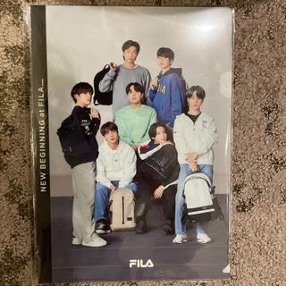 FILA BTS コラボ クリアファイル A4