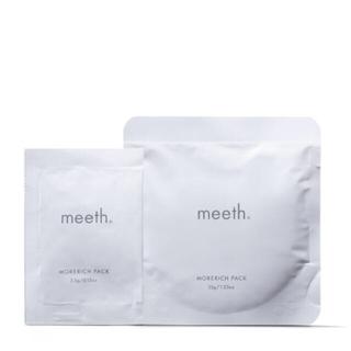 Cosme Kitchen - meeth モアリッチパック フェイスパック 炭酸ガスパック 炭酸パック