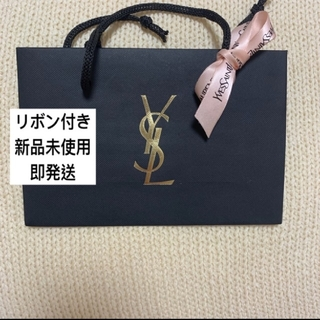 イヴサンローランボーテ(Yves Saint Laurent Beaute)のYSL イヴサンローラン ショッパー  ショップ袋 ピンク リボン付き P-2(ショップ袋)