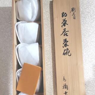タチキチ(たち吉)の創作陶器 たち吉 湯呑み5客 即日発送 即購入可能(食器)