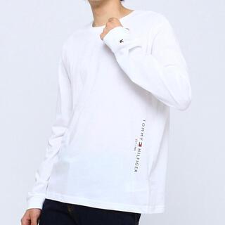 トミーヒルフィガー(TOMMY HILFIGER)のトミーヒルフィガー   Tシャツ オンライン限定 サイドロゴ ロンT(Tシャツ/カットソー(七分/長袖))