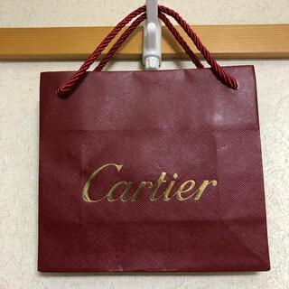 カルティエ(Cartier)のプレゼントの必須アイテム【Cartier】非売品ショップ袋(未使用)(ショップ袋)