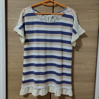 フェルゥ(Feroux)のオンワード フェルゥ ブラウス トップス(Tシャツ(半袖/袖なし))