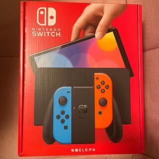 ニンテンドースイッチ(Nintendo Switch)の即日発送 任天堂 Switch 本体 新型 ネオン 有機ELモデル(家庭用ゲーム機本体)