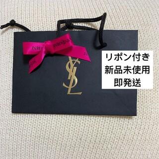 イヴサンローランボーテ(Yves Saint Laurent Beaute)のYSL イヴサンローラン ショッパー ショップ袋 レッド リボン付き(ショップ袋)