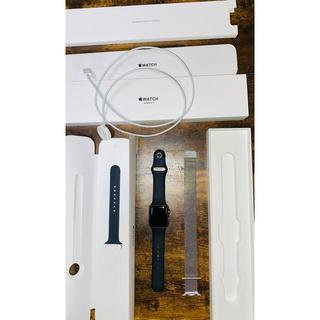 Apple Watch - アップルウォッチ3 GPSモデル38
