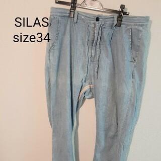 サイラス(SILAS)のSILAS クロップドパンツ size34(デニム/ジーンズ)