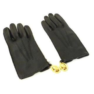 Christian Dior - ディオール Dior レザー グローブ 手袋 黒