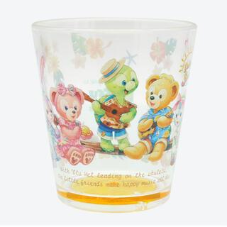 ダッフィー(ダッフィー)のダッフィーのサニーファン♡スーベニアタンブラー♡プラスチックカップ(グラス/カップ)