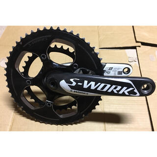 Specialized - スペシャライズド S-WORKS カーボンクランク 172.5mm 52/36t