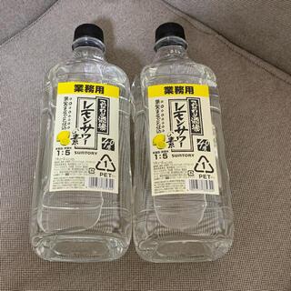 サントリー(サントリー)のサントリー こだわり酒場のレモンサワーの素 コンク 業務用 1.8L 2本(リキュール/果実酒)