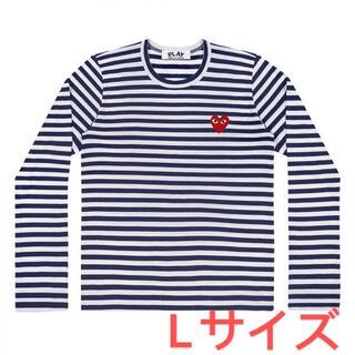 コムデギャルソン(COMME des GARCONS)の【再入荷】COMME des GARCONS レディース ボーダーロングTシャツ(Tシャツ(長袖/七分))