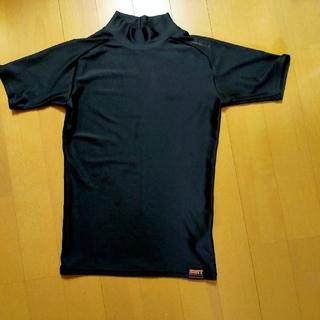 ゼット(ZETT)の黒 野球 アンダー 140cm 半袖(ウェア)