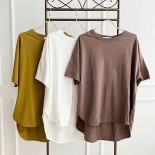 しまむら - MUMU Tシャツ ブラウン 試着したのみ ほぼ新品