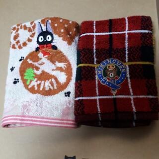 ミキハウス(mikihouse)のMIKI HOUSEと魔女の宅急便のハンドタオル(タオル/バス用品)