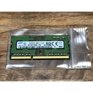 SAMSUNG - メモリー 4GB SAMSUNG DDR3L 低電圧版 PC3L-12800S