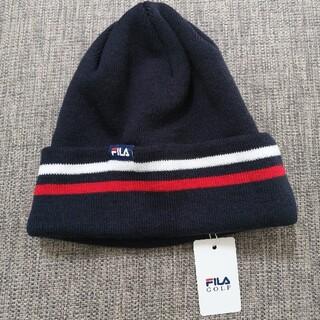 フィラ(FILA)のFILA フィラゴルフニット帽(その他)