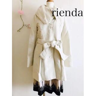 rienda - rienda リエンダ コート ホワイト
