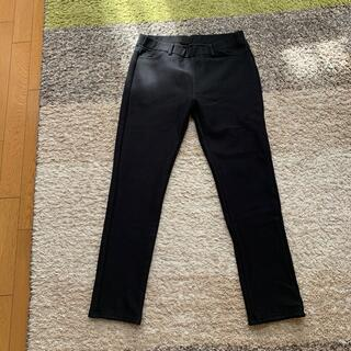 ムジルシリョウヒン(MUJI (無印良品))の無印良品 ストレッチ裏フリース レギンスパンツ婦人XL・黒(レギンス/スパッツ)