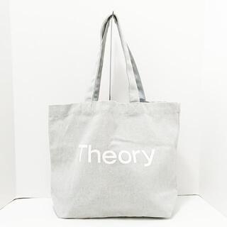 セオリー(theory)のセオリー トートバッグ美品  キャンバス(トートバッグ)