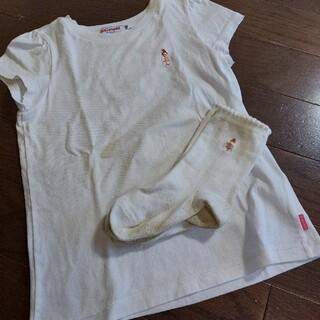 ミキハウス(mikihouse)のMIKIHOUSE  Tシャツ靴下セット120cm運動会(その他)