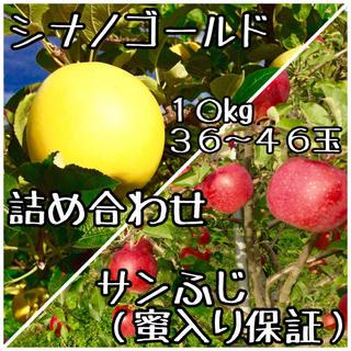 星虎さま専用 【サンふじ(完全蜜入り保証)&シナノゴールド】 ご家庭用10kg(フルーツ)