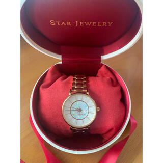 スタージュエリー(STAR JEWELRY)のスタージュエリー時計 ウォッチ Xmas限定 WHITE ZODIAC(腕時計)