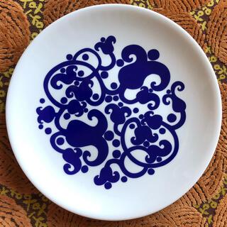 アラビア(ARABIA)のレア!未使用 ステッカー付き アラビア 140周年記念 プレート Maaria (食器)