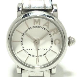 マークジェイコブス(MARC JACOBS)のマークジェイコブス 腕時計 クラシック 白(腕時計)