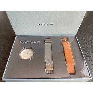 スカーゲン(SKAGEN)のSKAGEN/クォーツ腕時計/アナログ/WHT/SLV/SKW1082(腕時計(アナログ))