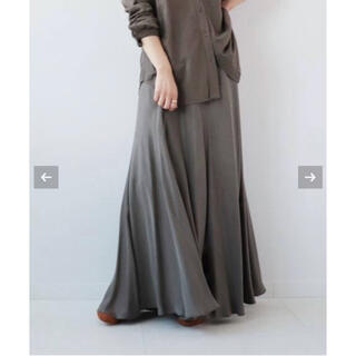 プラージュ(Plage)のPlage 《追加》Fibril ギャザーロングスカート13 新品(ロングスカート)