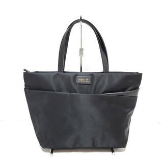 アニエスベー(agnes b.)のアニエスベー ハンドバッグ美品  - 黒(ハンドバッグ)