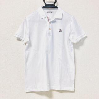 MONCLER - モンクレール 半袖ポロシャツ サイズS 白