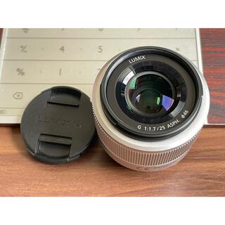 Panasonic - ボケ味を演出 Panasonic LUMIX 25mm F1.7 単焦点レンズ