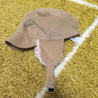 ムジルシリョウヒン(MUJI (無印良品))の値下げ‼︎ボア耳あて付き帽子*50㎝*無印(帽子)
