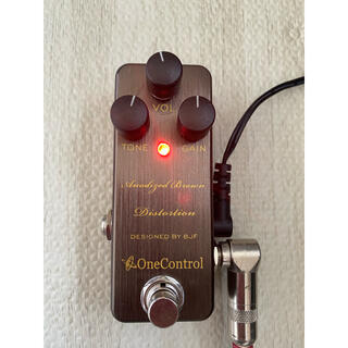 one control Anodized Brown Distotion(エフェクター)