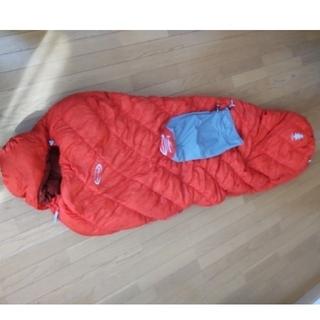 モンベル(mont bell)の美品 モンベル mont-bell ULSSダウンハガー #1 Rzip(寝袋/寝具)