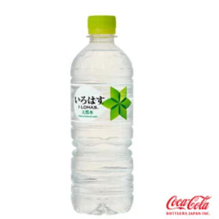 コカコーラ(コカ・コーラ)のい・ろ・は・す 555mlPET 24本3ケース 72本(ミネラルウォーター)