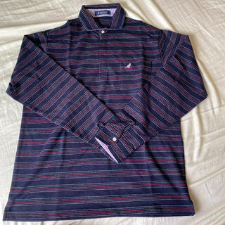 カンゴール(KANGOL)のカンゴール KANGOL 長袖シャツ ポロシャツ サイズ:L(ポロシャツ)