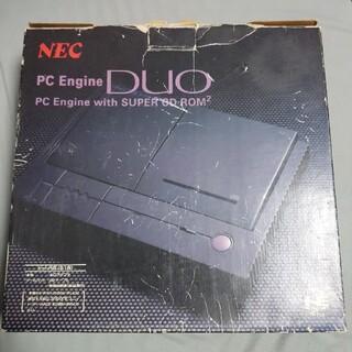 エヌイーシー(NEC)のPCエンジンDUO 箱説明書付き本体セット(家庭用ゲーム機本体)