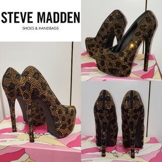 スティーブマデン(Steve Madden)のSteve Madden キラキラ ストーン ゴージャス スティーブ マデン(ハイヒール/パンプス)