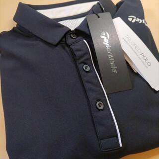 TaylorMade - 【新品未使用】テーラメイドTaylorMade ポロシャツ長袖Oサイズ ブラック