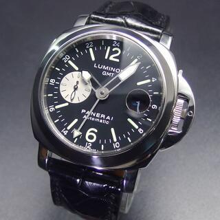 PANERAI - 国内正規 E番 パネライ PAM00088 ルミノールマリーナ GMT メタルベ