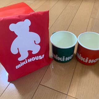ミキハウス(mikihouse)のminiHOUSE ホウロウのコップ(グラス/カップ)