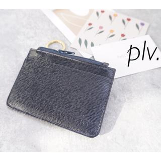 GIVENCHY - 美品 ジバンシィ キーコインカードケース ネイビー