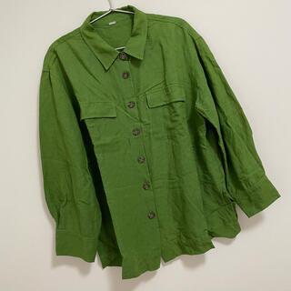 ミラオーウェン(Mila Owen)のミラオーウェン カバーオールシャツ(シャツ/ブラウス(長袖/七分))